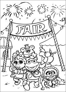 Coloriage Les Muppets
