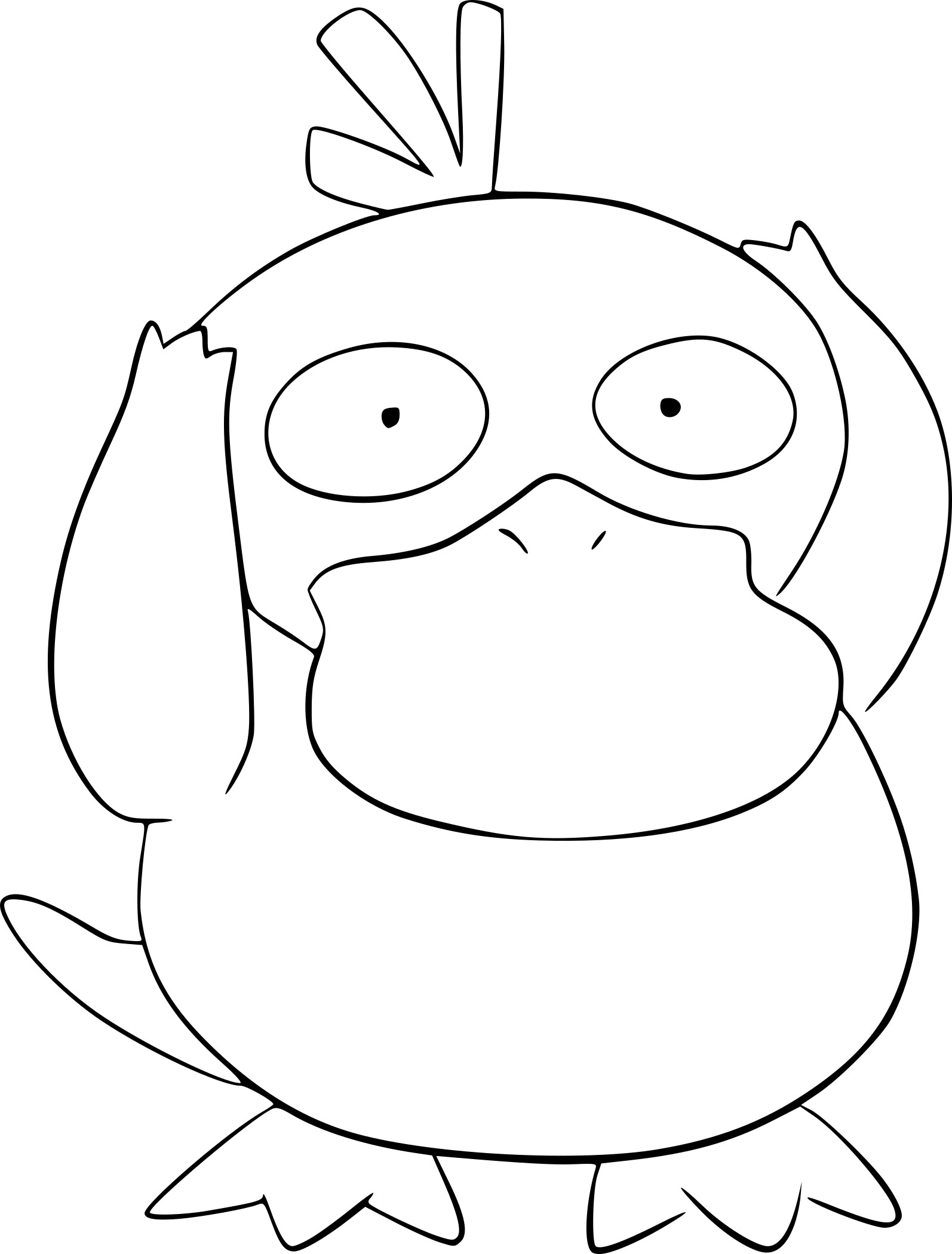 Coloriage psykokwak pokemon imprimer - Imprimer coloriages ...
