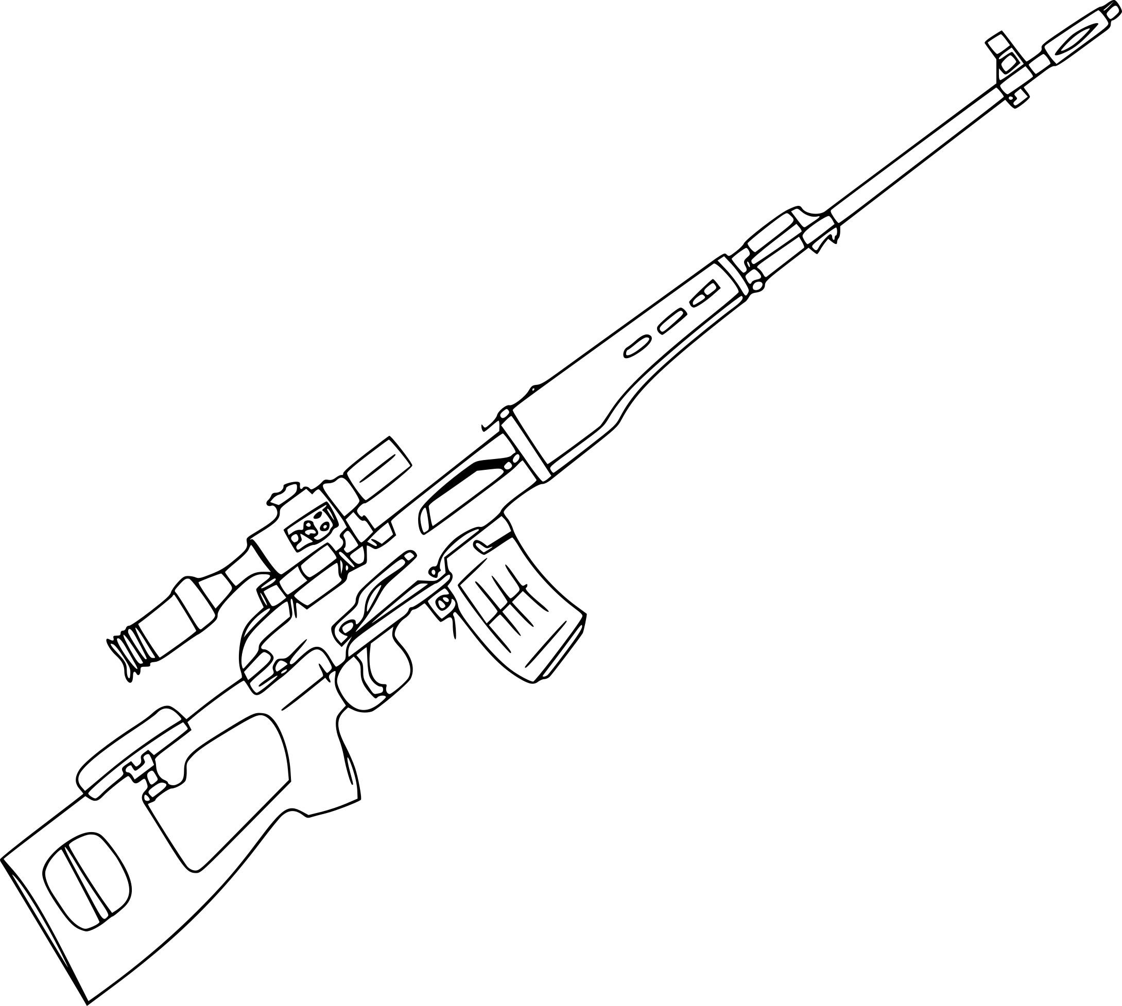 Coloriage Sniper 224 Imprimer