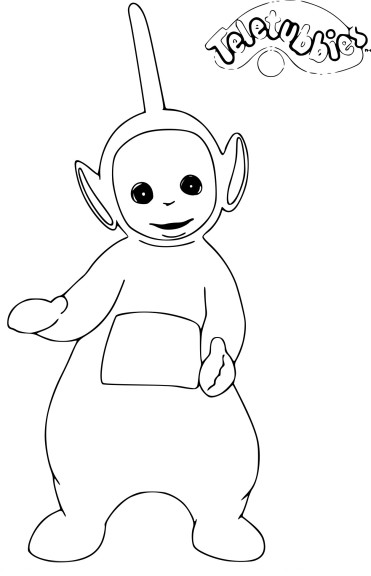 Coloriage Teletubbies Dipsy