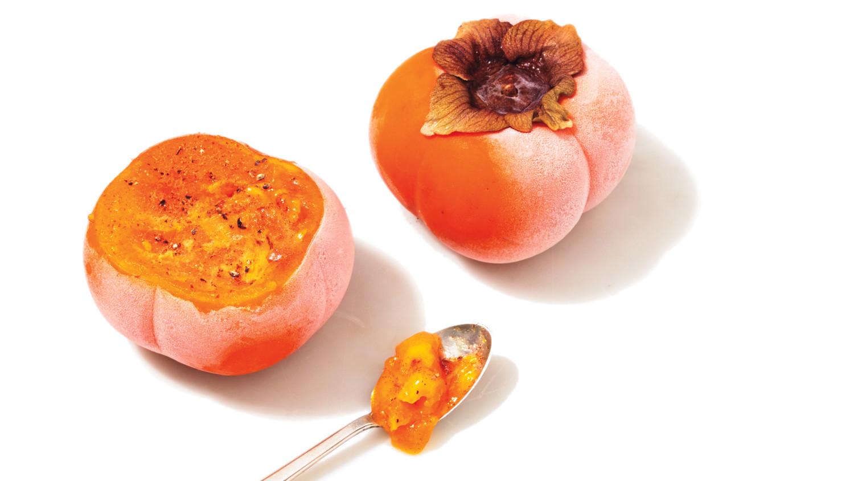 Coloriage Fruit Kaki.Coloriage Kaki Fruit A Imprimer