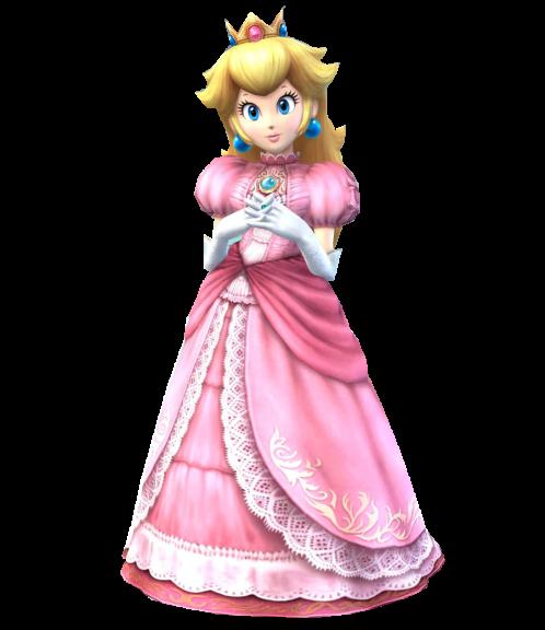 Peach Super Smash Bros