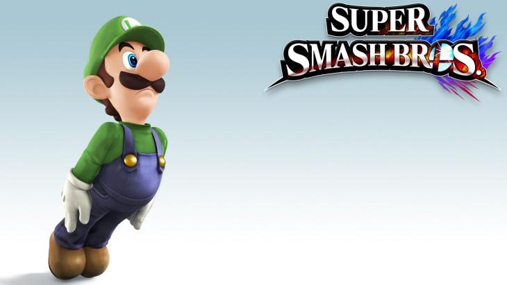 Super Smash Bros Luigi