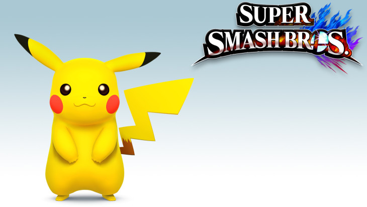 Super Smash Bros Pikachu