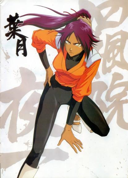Yoruichi Shihouin Bleach