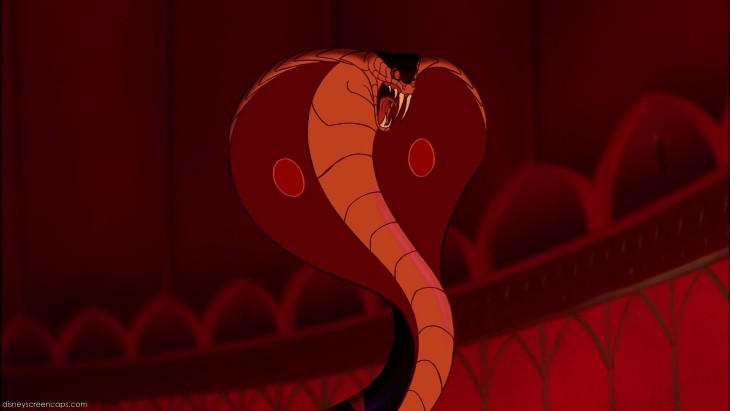 Aladdin serpent