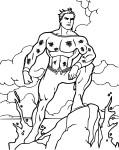 Aquaman coloriage