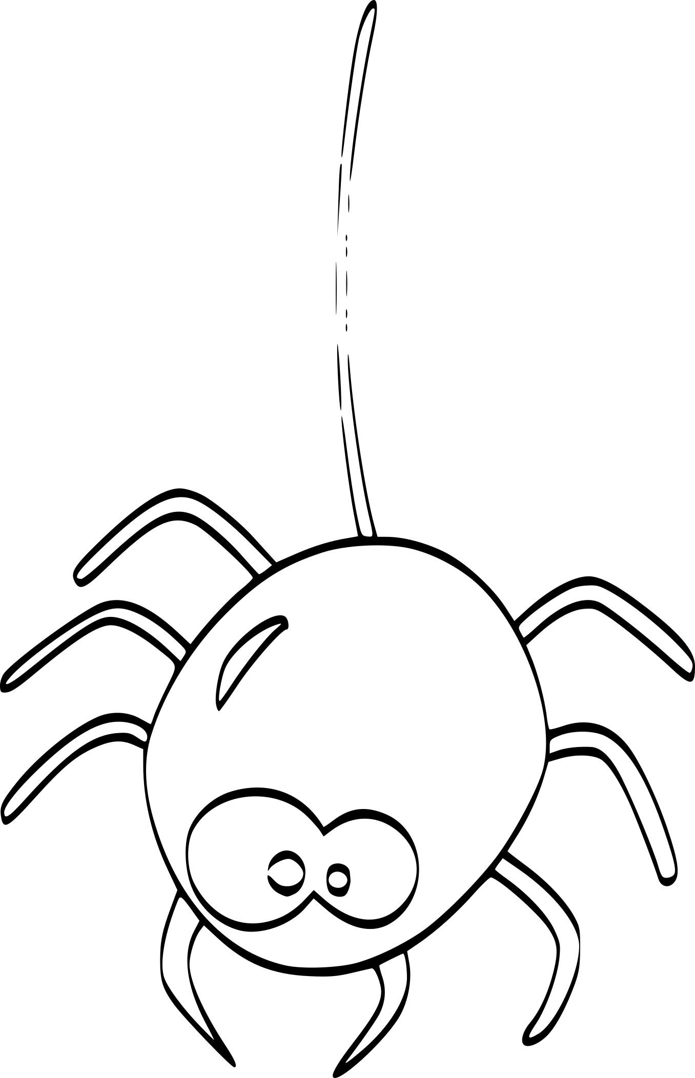 Coloriage Araignée Halloween Et Dessin à Imprimer