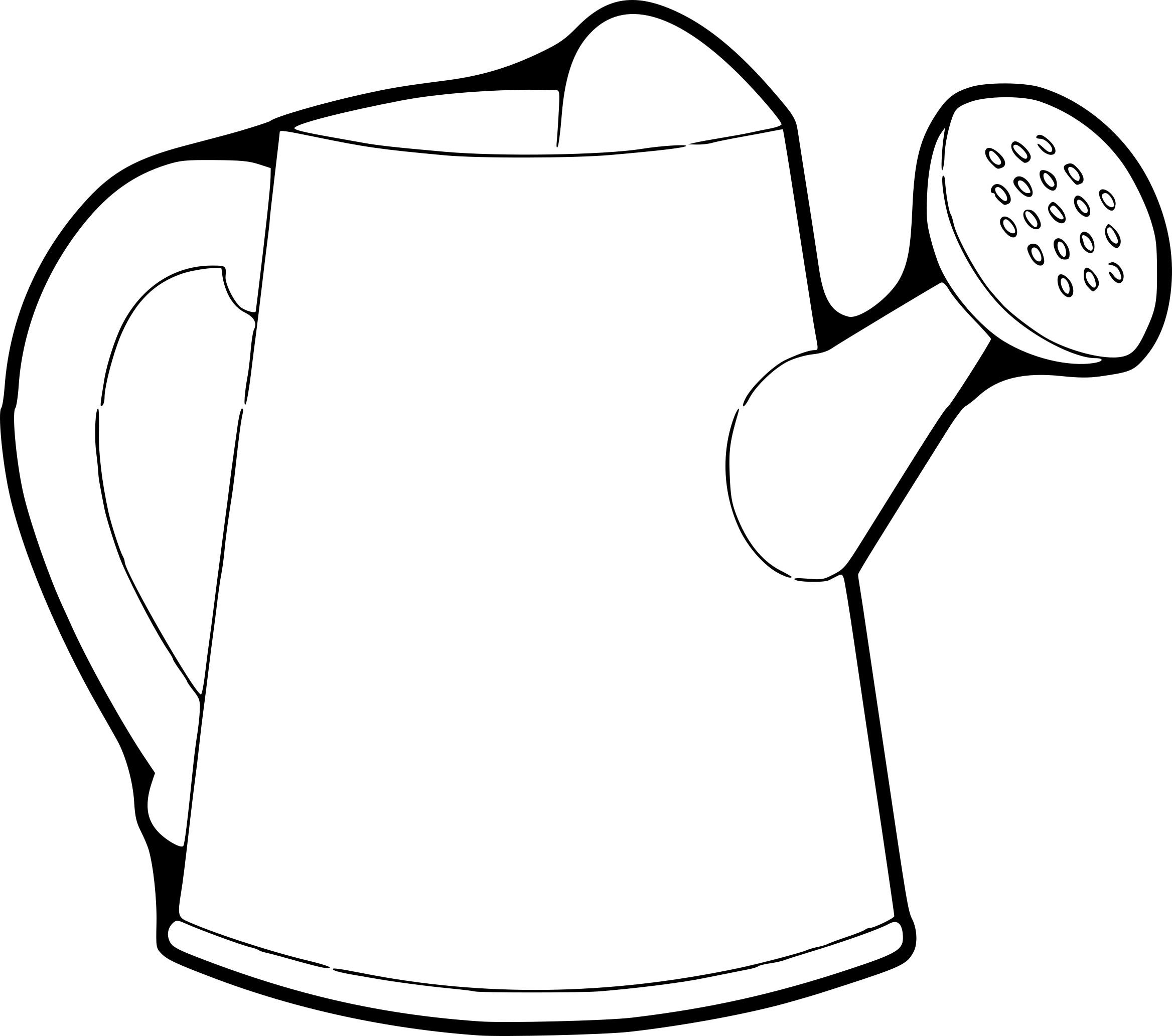 Arrosoir dessin