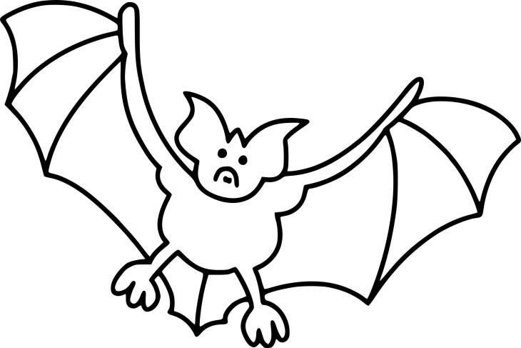 Coloriage chauve souris halloween et dessin imprimer - Dessin a colorier de halloween ...