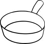 Coloriage casserole