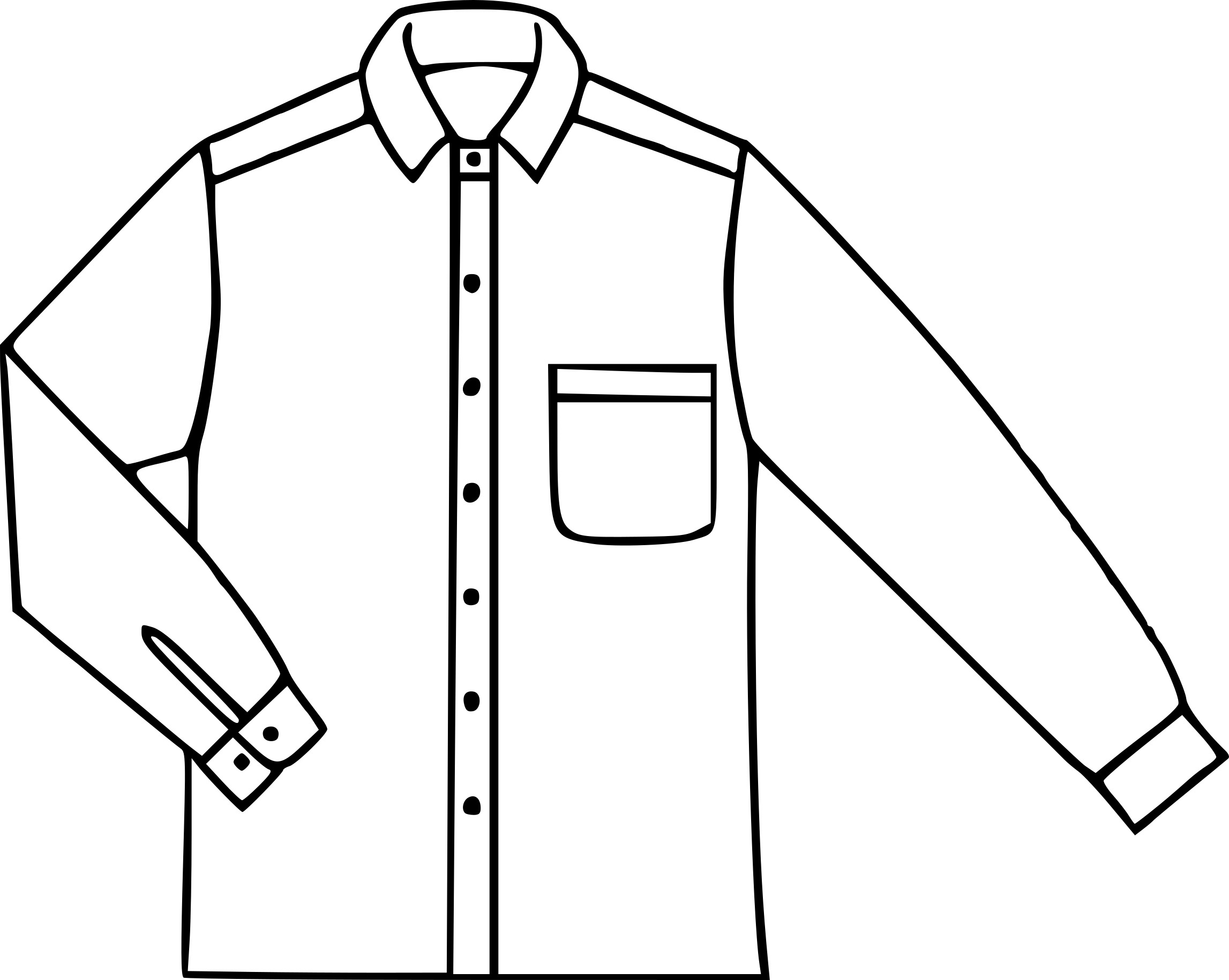 Coloriage chemise