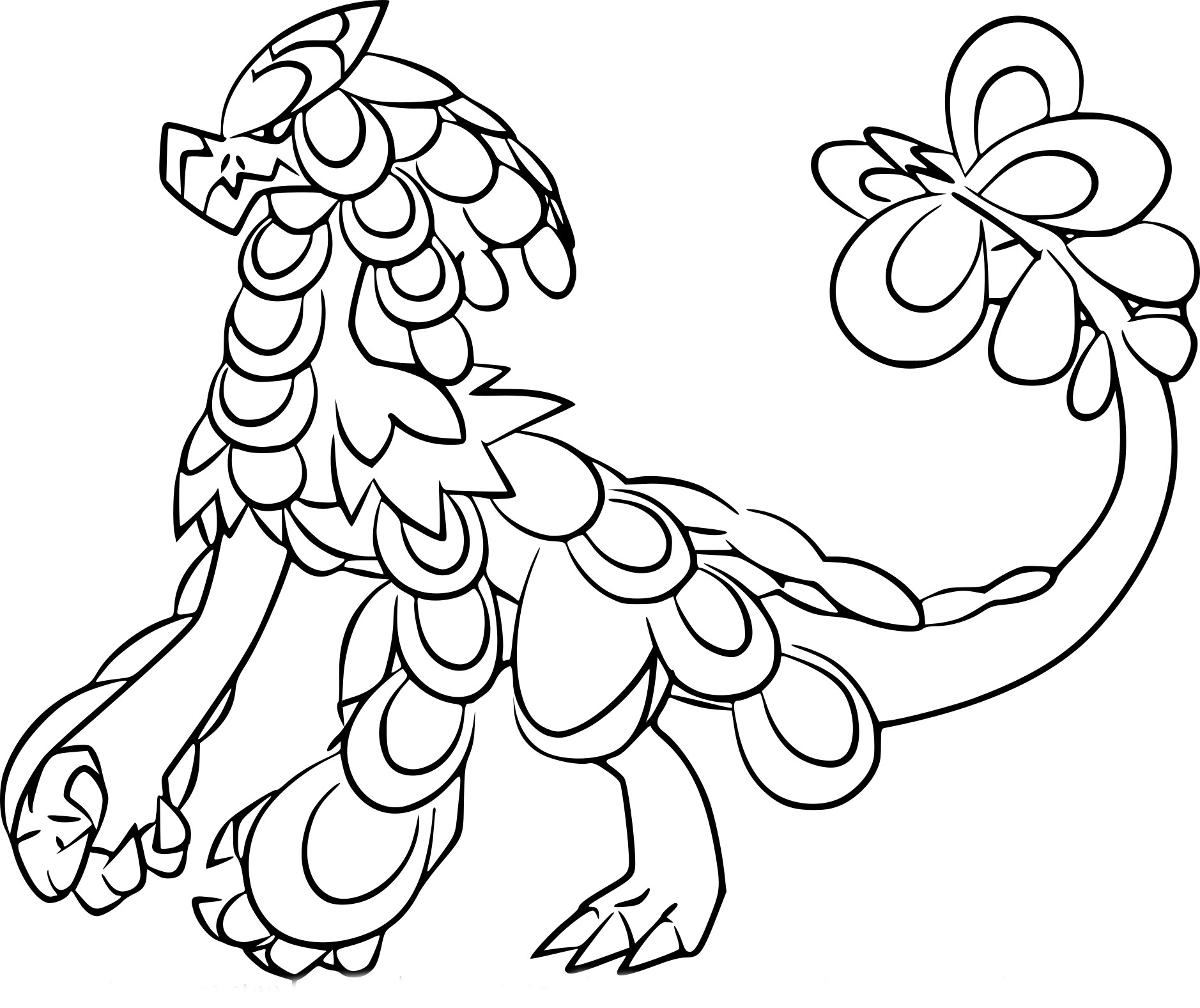 Coloriage ka ser pokemon imprimer - Coloriages a colorier ...