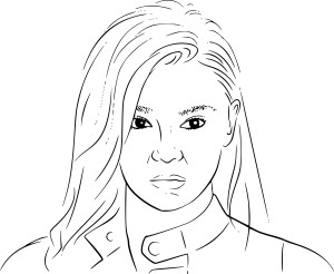Coloriage Hailee Steinfeld