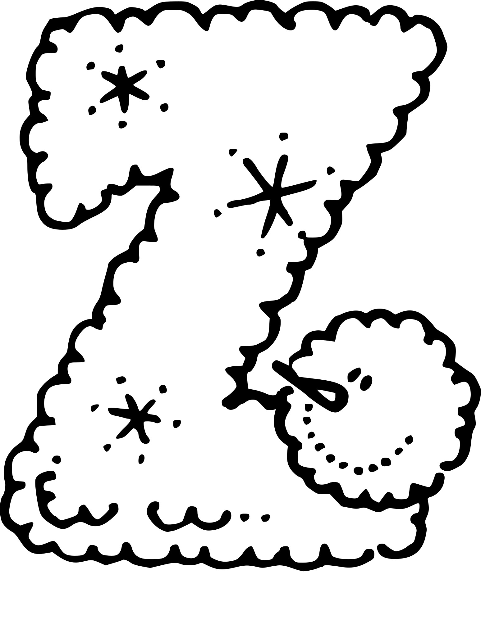 Coloriage lettre Z