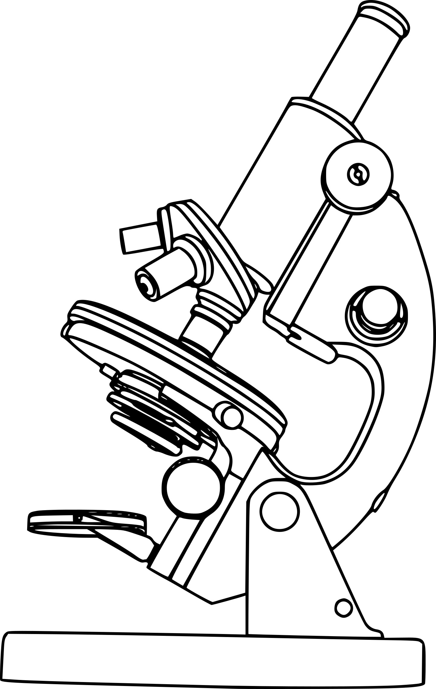 Coloriage microscope