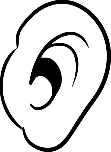 Coloriage oreille