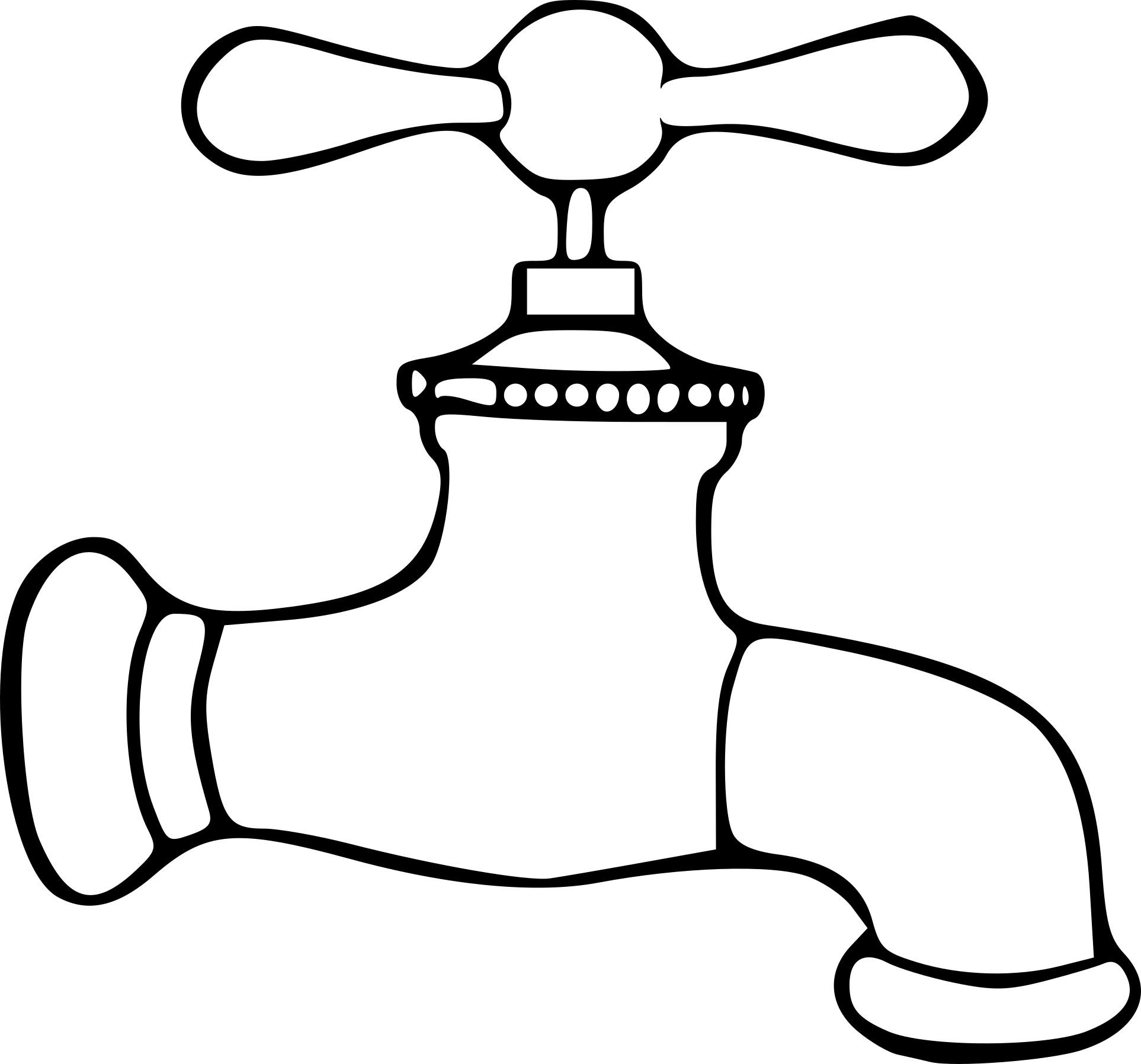 Coloriage robinet