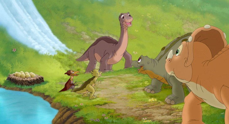 Dinosaure petit pied