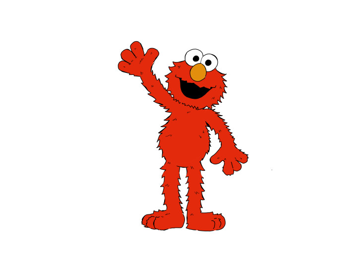 Elmo dessin anime