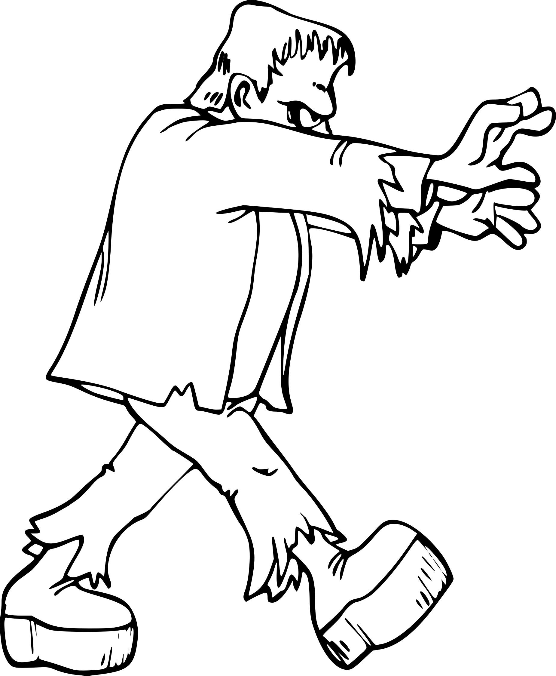 Frankenstein dessin