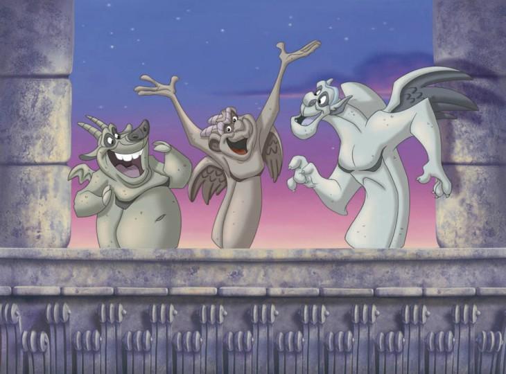 Gargouille Disney