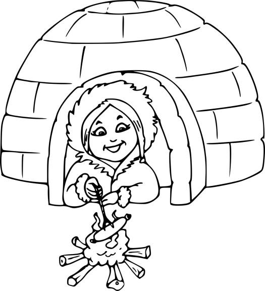 Igloo dessin