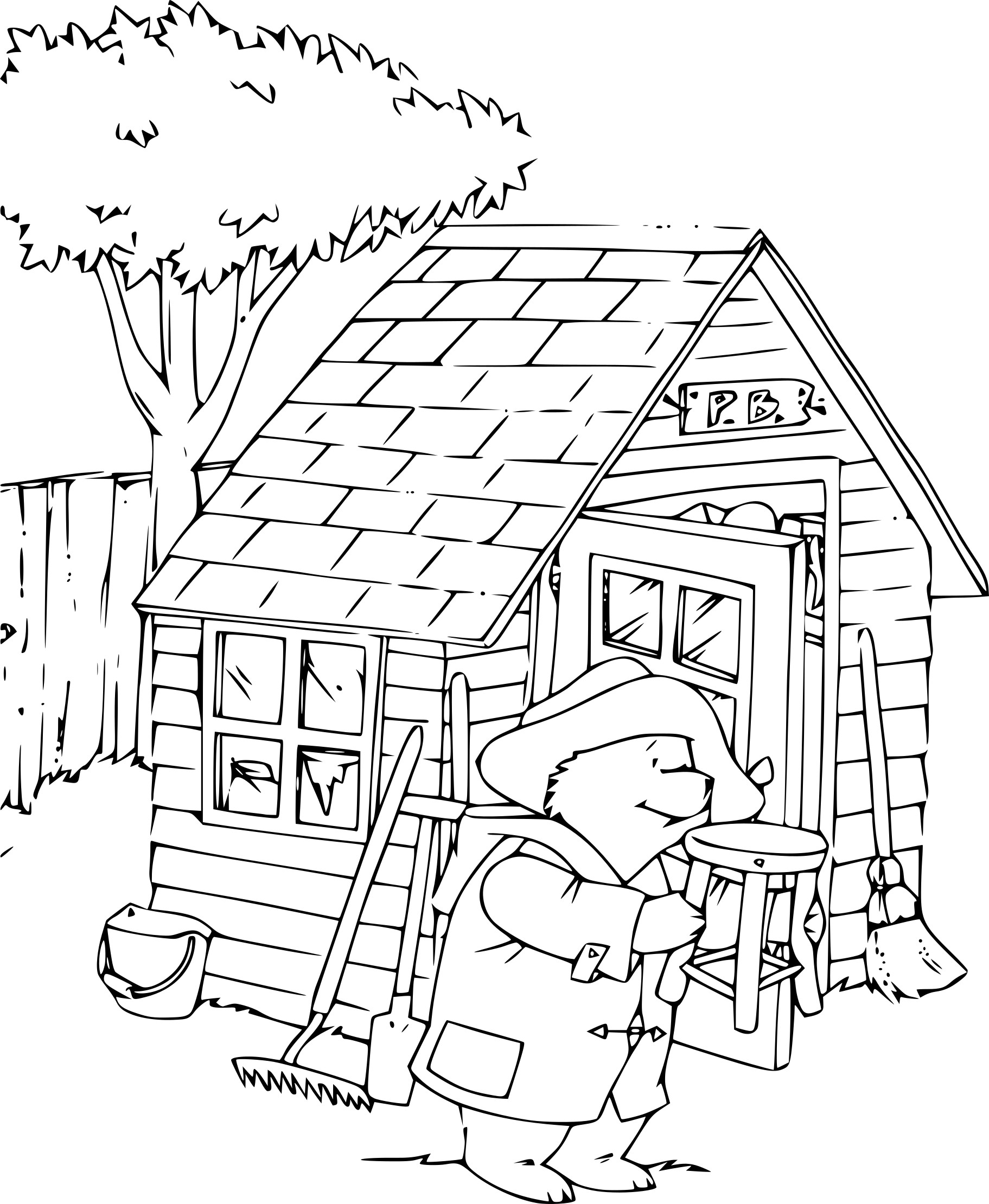 Paddington dessin