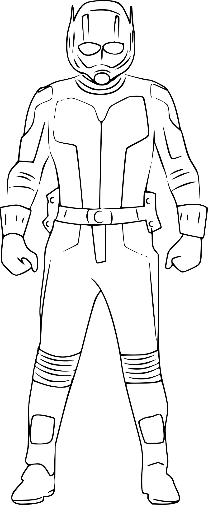 Coloriage Ant-Man