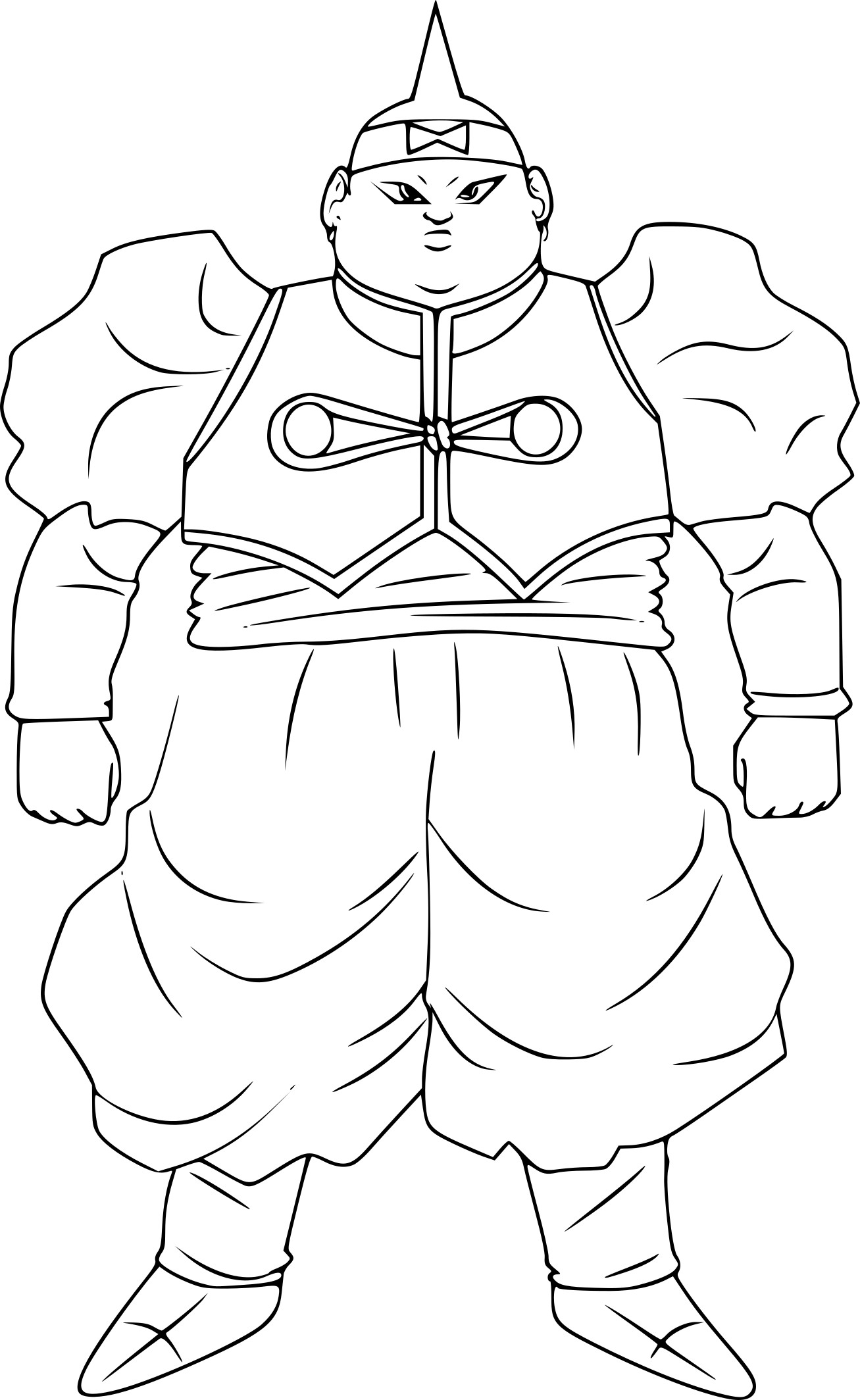 Coloriage c 19 dbz imprimer - Dessin de dragon ball ...