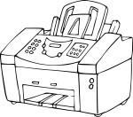 Coloriage imprimante