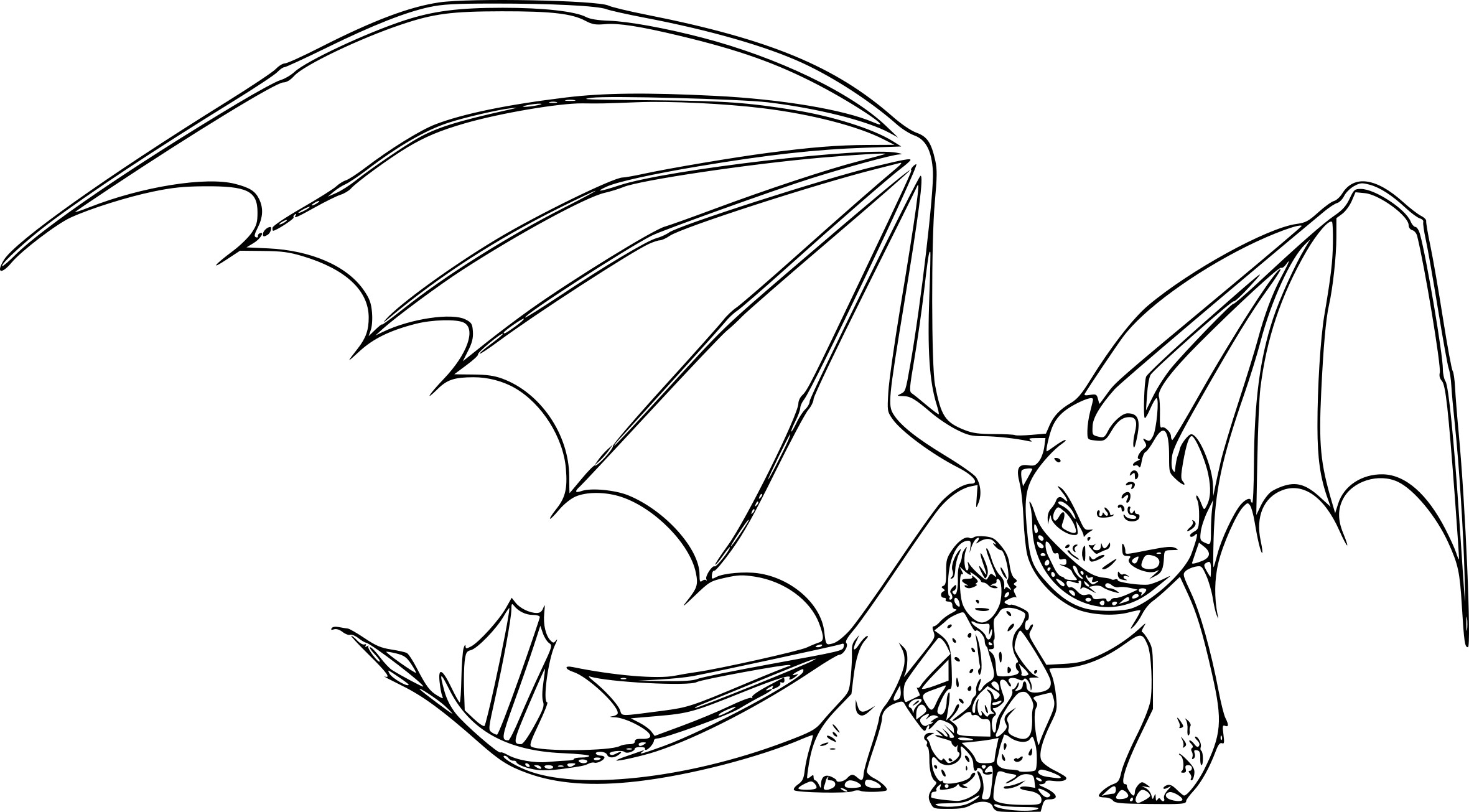 Coloriage krokmou dragon imprimer - Coloriages de dragons ...