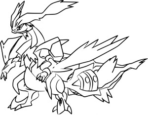 Coloriage rayquaza pokemon imprimer - Coloriage pokemon sulfura ...