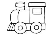 Coloriage locomotive