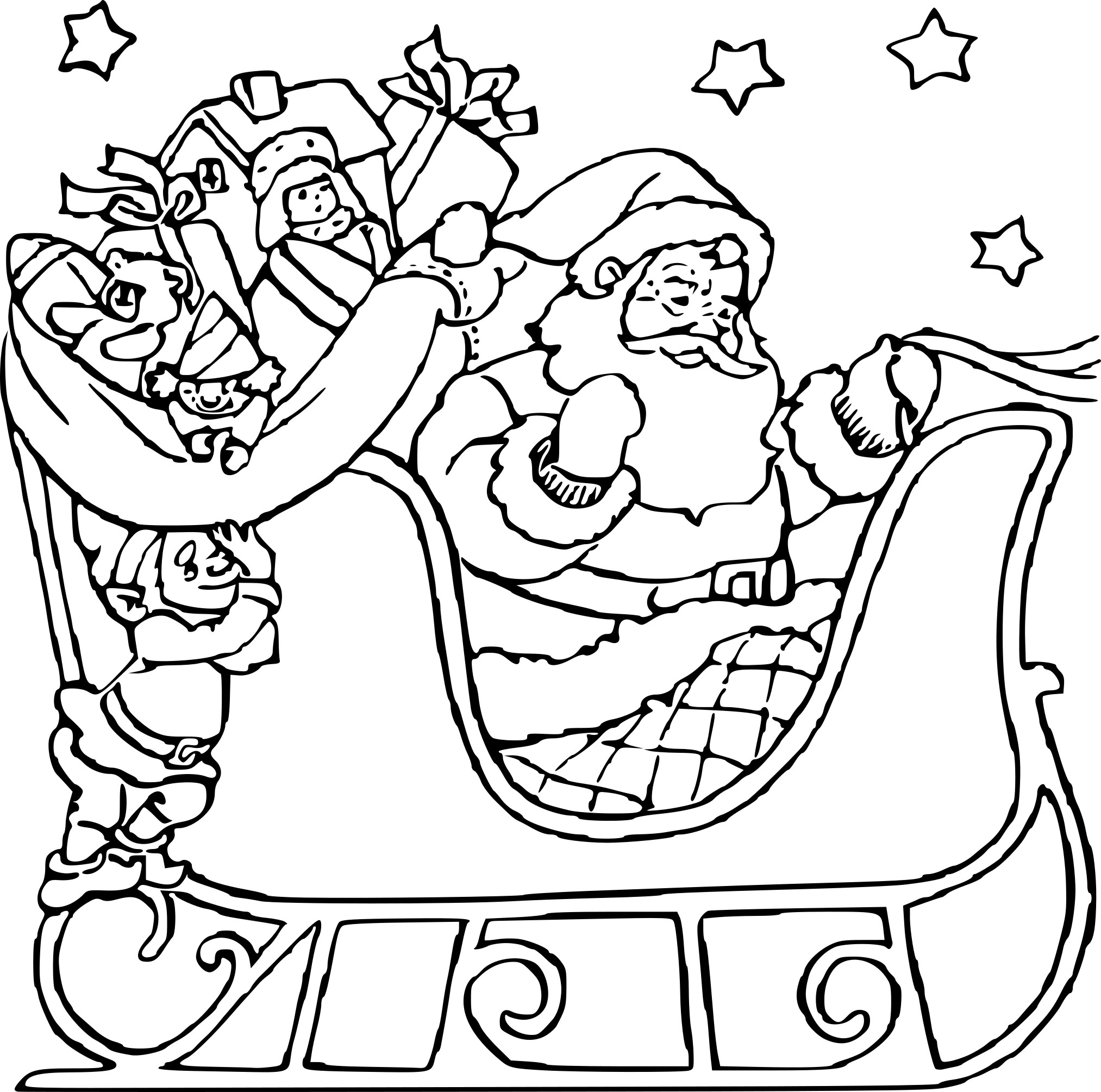 Unique Lutin Fille Du Pere Noel Coloriage | 30000 ++ collections de pages à colorier imprimables