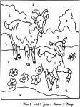 Coloriage magique animaux