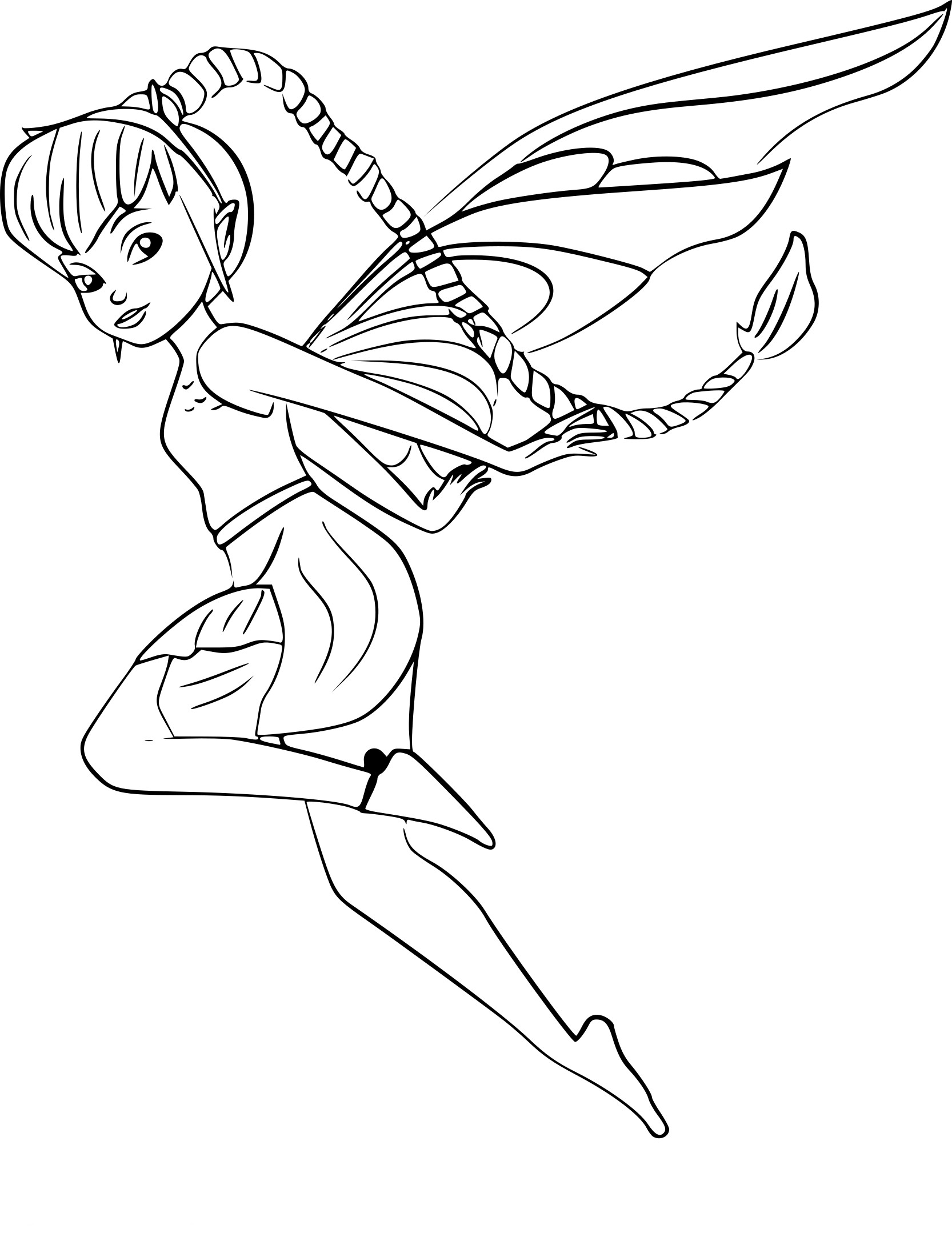 Coloriage De Fee Volante A Imprimer.New Coloriage De Fees A Imprimer Impressionnant Coloriage De Fees A