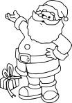 Coloriage papa Noel