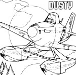 Coloriage Planes Dusty