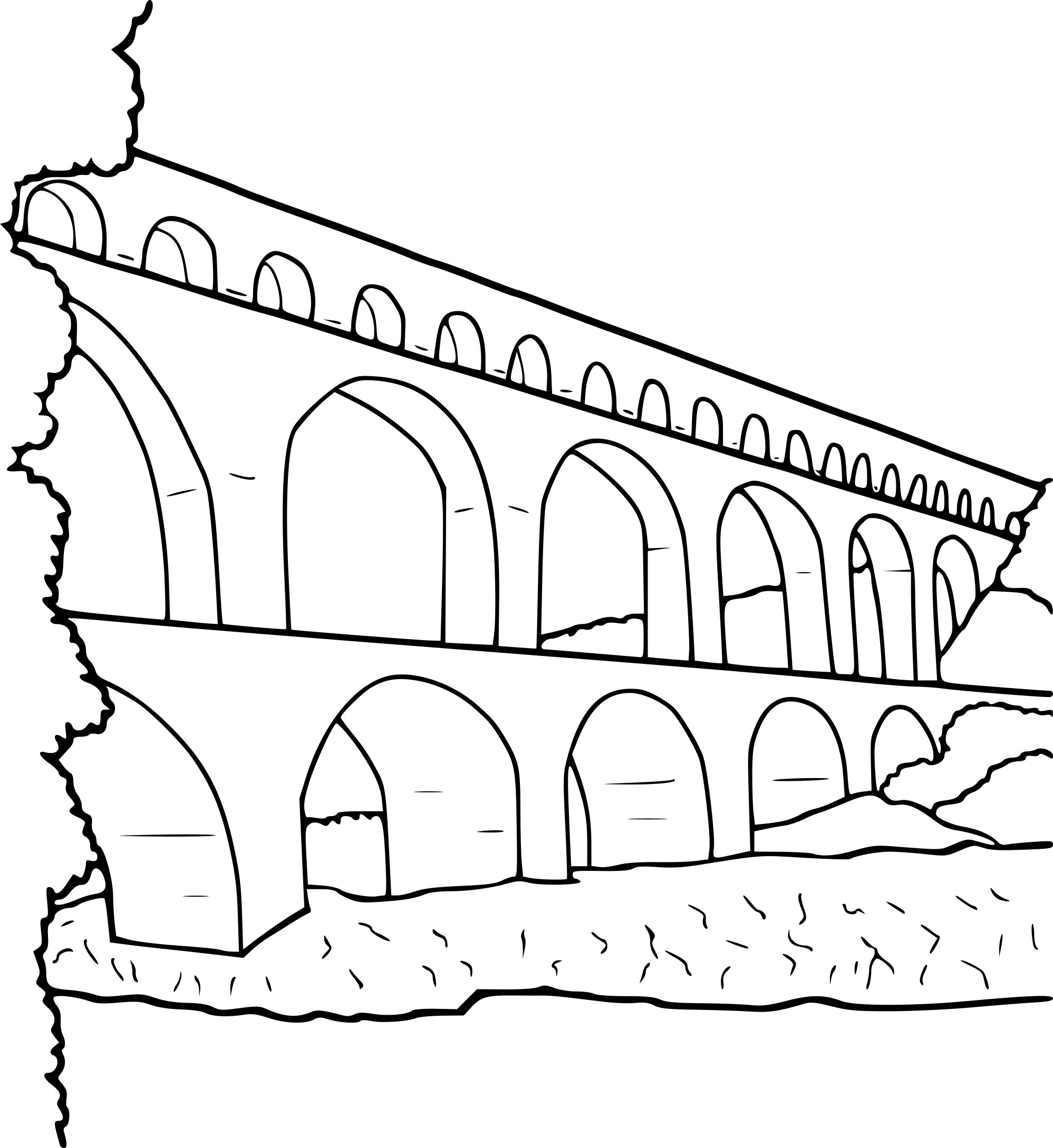 Coloriage pont