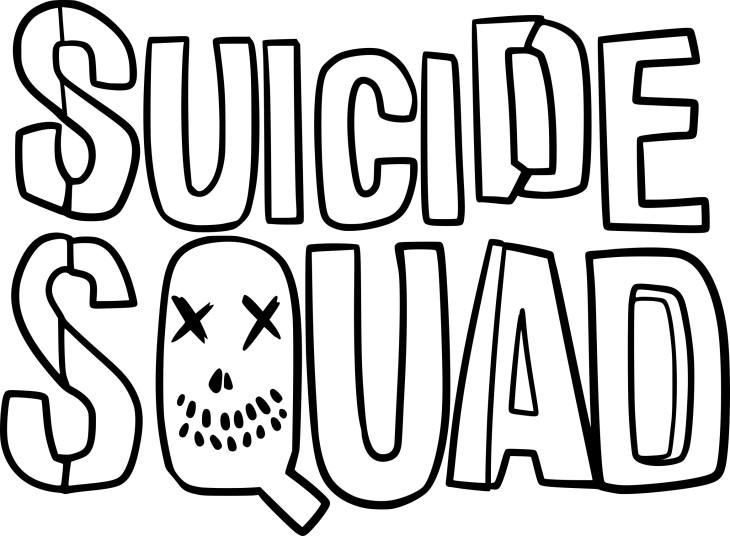 Coloriage Suicide Squad