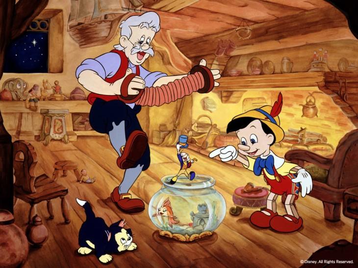 Pinocchio Geppetto