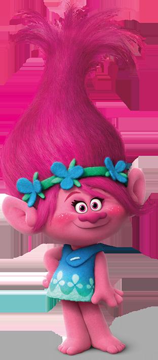 Coloriage princesse poppy de trolls imprimer - Dessin de troll ...