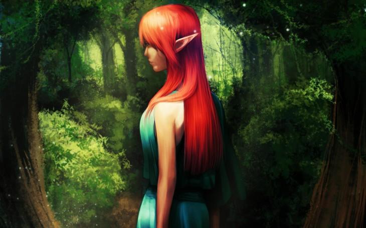 Une elfe