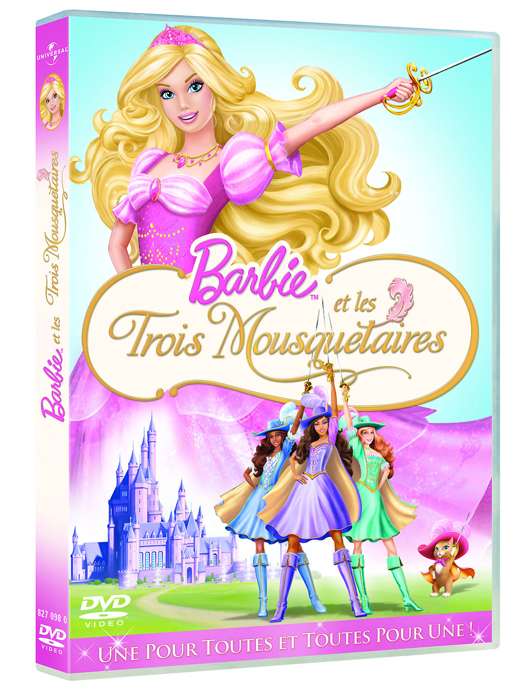 Coloriage barbie mousquetaire imprimer for Barbie chien piscine