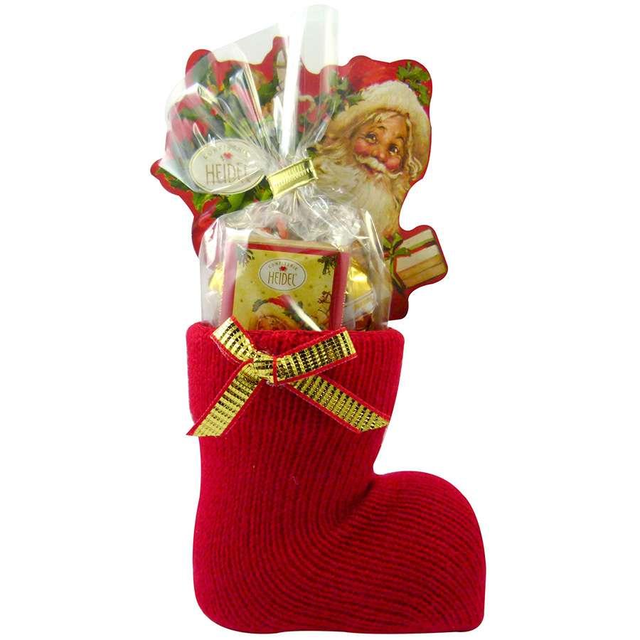 Coloriage Botte De Noel à Imprimer