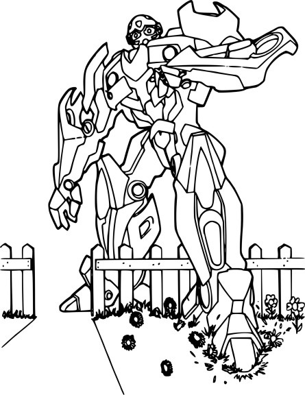 Coloriage Bumblebee