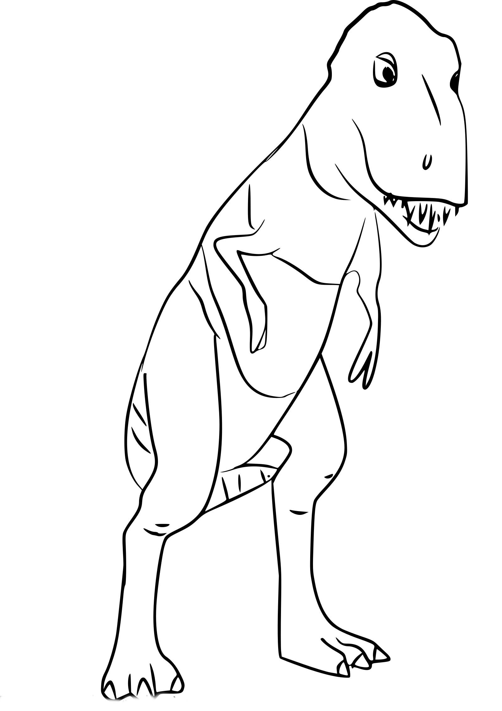 Coloriage Daspletosaurus