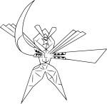 Coloriage Katagami
