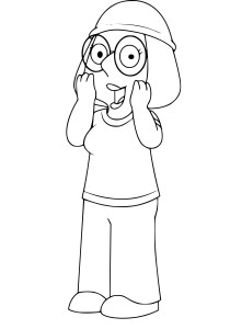 Coloriage Meg Griffin